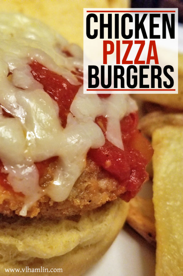 Cheesy Chicken Pizza Burgers Recipe | Food Life Design