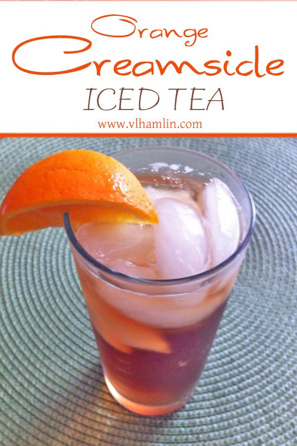 Orange Creamsicle Iced Tea