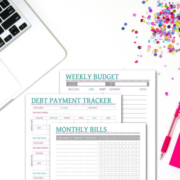 Budget Planner Set