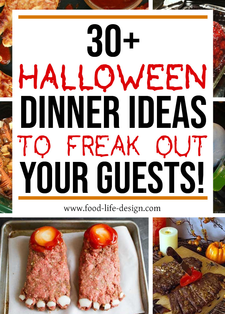 30+ Halloween Dinner Ideas - Food Life Design