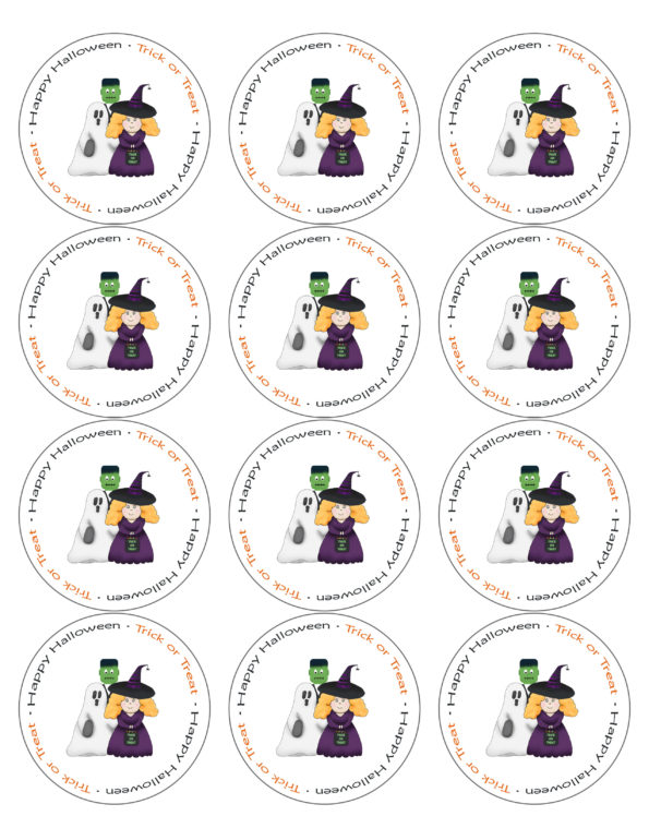 Free Printable Halloween Labels - Download Here!
