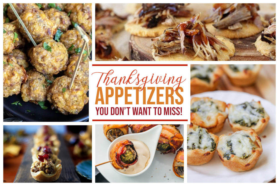 10 Thanksgiving Appetizers You Do Not Want to Miss - Food Life Design