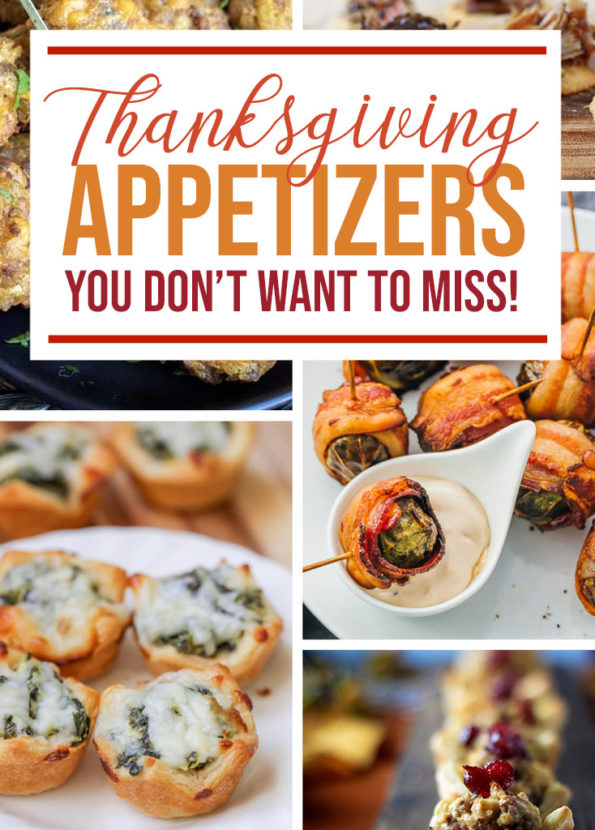 10 Thanksgiving Appetizers You Have to Try - Food Life Design