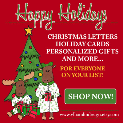 2019 Christmas Gift Ideas from VLHamlinDesign!
