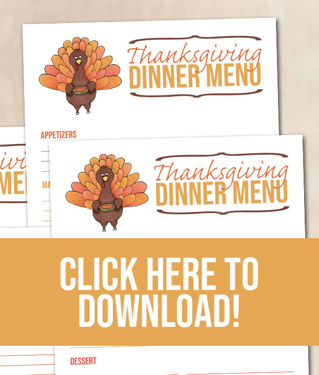 Free Printable Thanksgiving Dinner Menu - Food Life Design - DOWNLOAD HERE.jpg