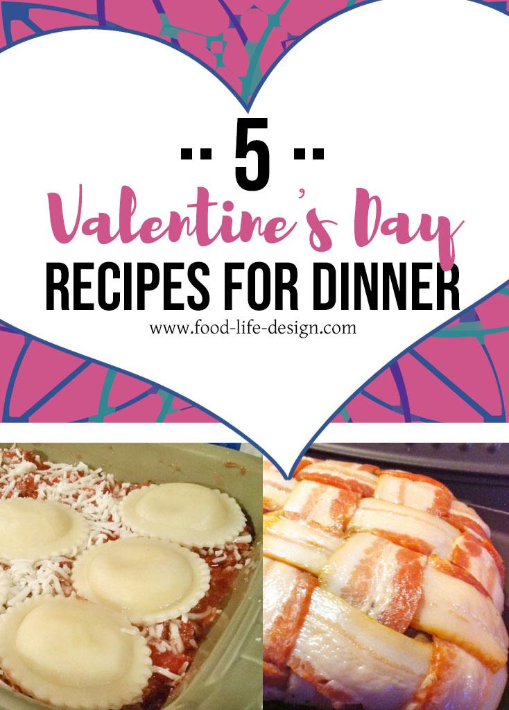 5 Valentine's Day recipes - Food Life Design