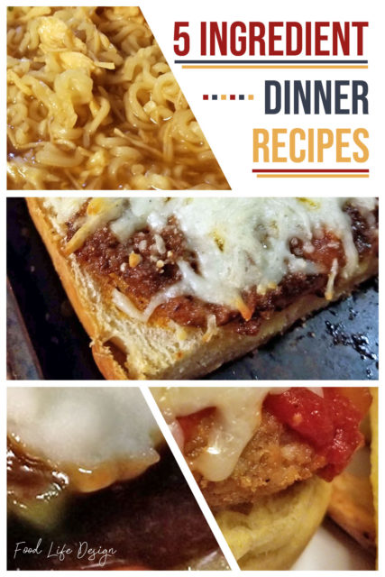 5 Ingredient Dinner Recipes 4 - Food Life Design