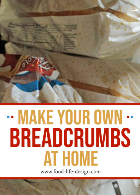 Make Your Own Breadcrumbs At Home 3 - Food Life Design