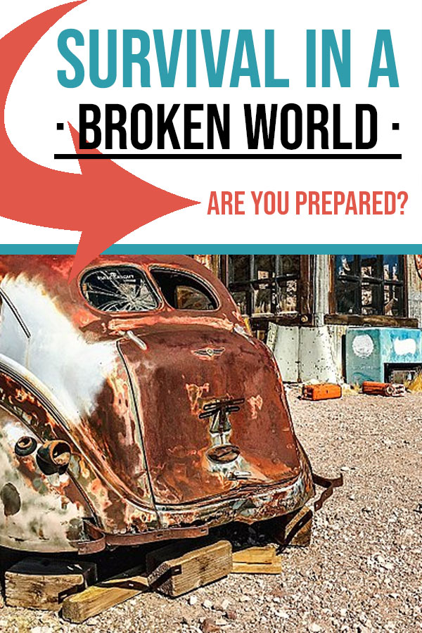 Survival in a Broken World - Are You Prepared | Food Life Design