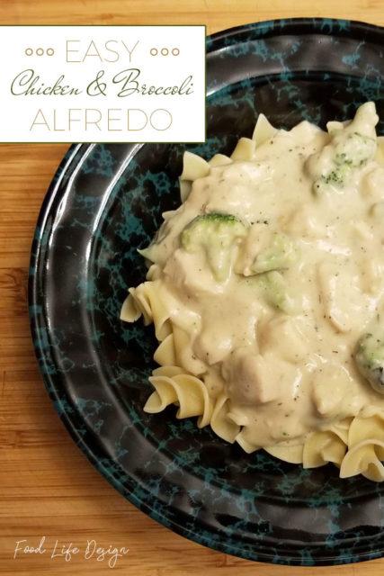 Easy Chicken and Broccoli Alfredo Recipe - Food Life Design