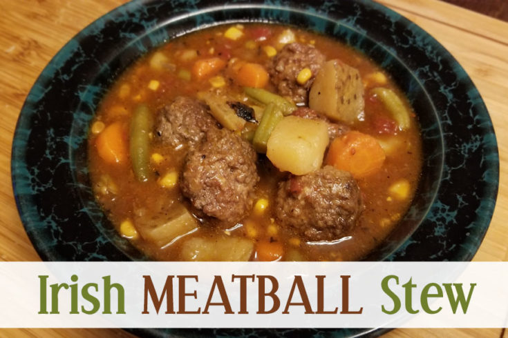 Irish Meatball Stew Recipe - Food Life Design