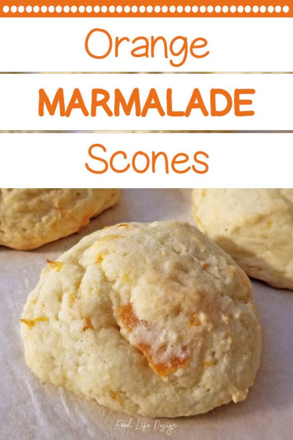 Orange Marmalade Scones Recipe - Food Life Design
