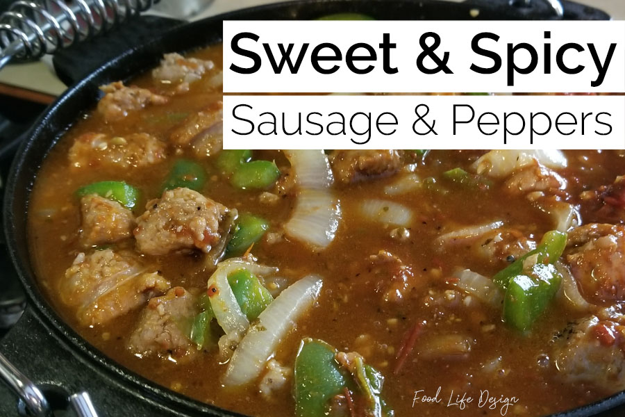 Sweet and Spicy Sausage and Peppers