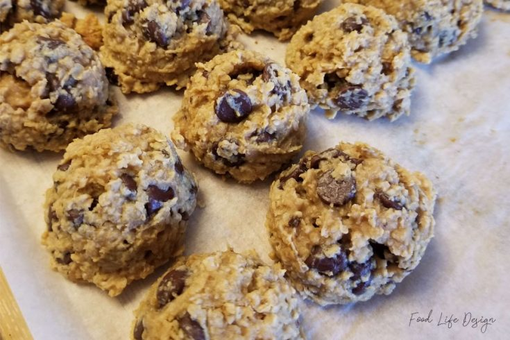 Oatmeal Chocolate Chip Breakfast Cookies - Food Life Design