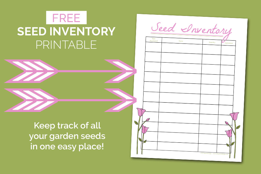Free Seed Inventory Printable - Food Life Design
