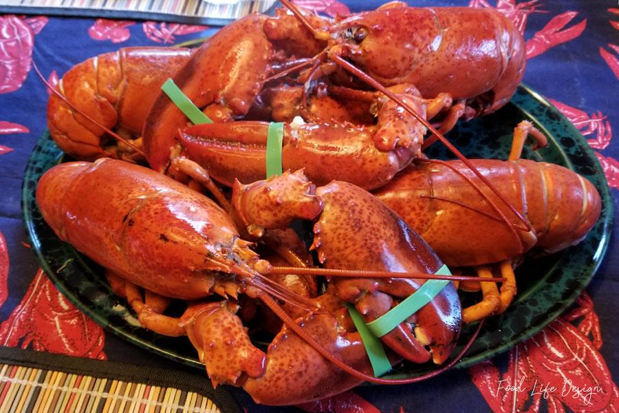 Lobster Dinner is Served - Food Life Design