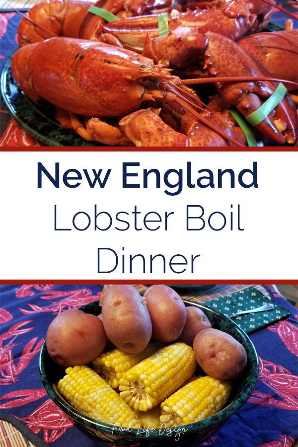 New England Lobster Boil Dinner - Food Life Design