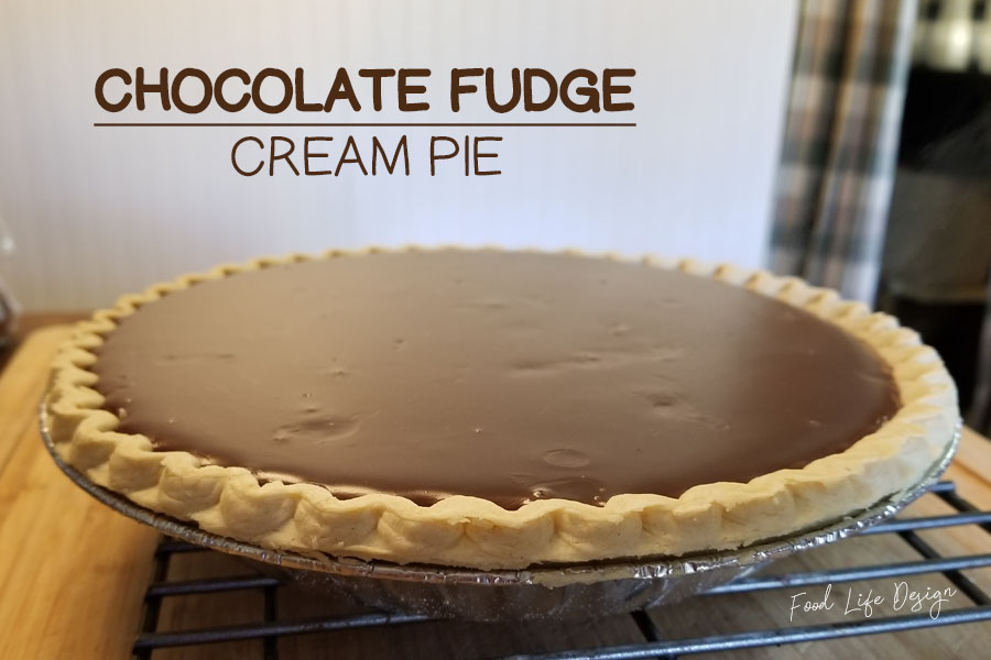 3 Ingredient Chocolate Cream Pie Recipe - Food Life Design